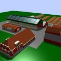uitbreiding rundveestal en nieuwbouw kapschuur